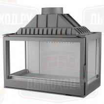Топка LCI 9 GFLR, два боковых стекла (Liseo Castiron)