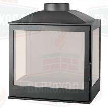 Топка LCI 5 GFLR, два боковых стекла (Liseo Castiron)