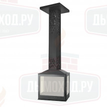 Камин LCI 5 SKY GFLR, два боковых стекла (Liseo CastIron)