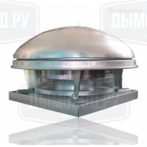CTHB/4-225 дымоудаления +120 С Крышный вентилятор с горизонтальным выбросом воздуха
